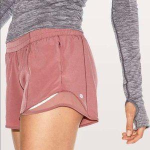 """Lululemon Hotty Hot Shorts 2.5"""" Pink Taupe"""